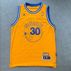 Retro Steph Curry Jersey, Size M